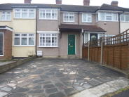 Terraced house in Brian Close, Elm Park...