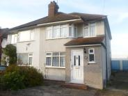 3 bedroom semi detached property in Warren Drive, Elm Park...