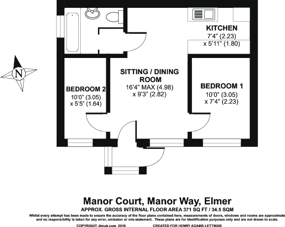 Floor Plan Bungalow
