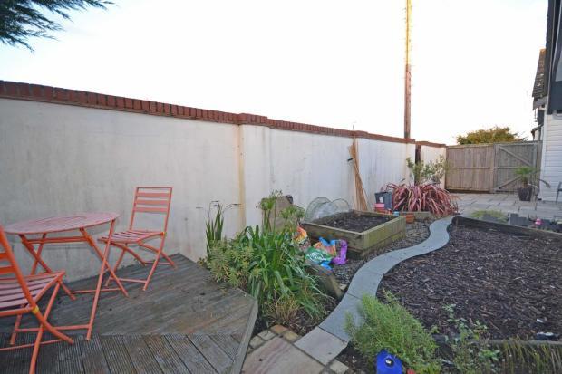 Front garden space