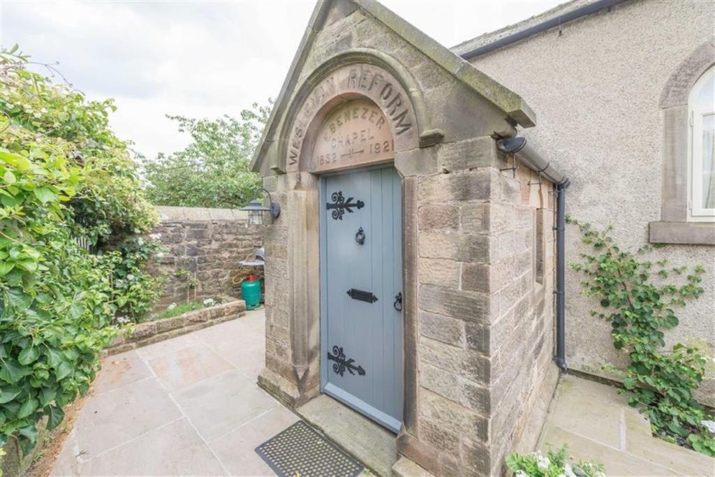 Stone Entrance Porch