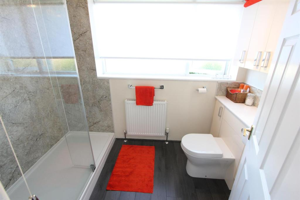Shower room to rear