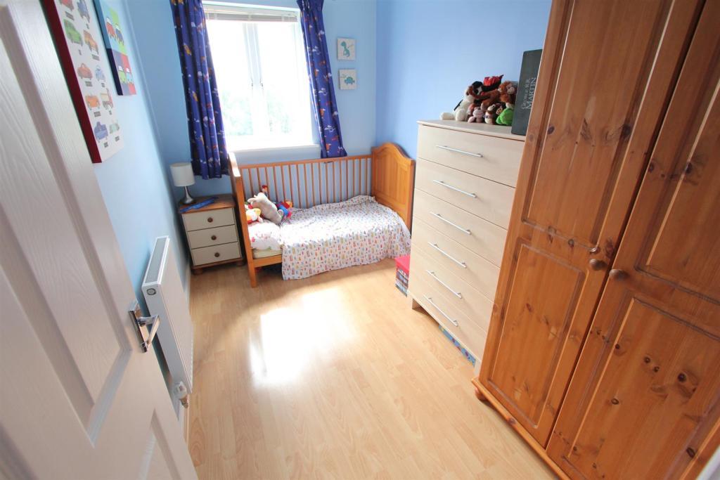 Bedroom three to rea