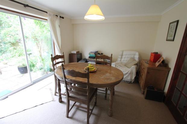 Rear dining room/bed