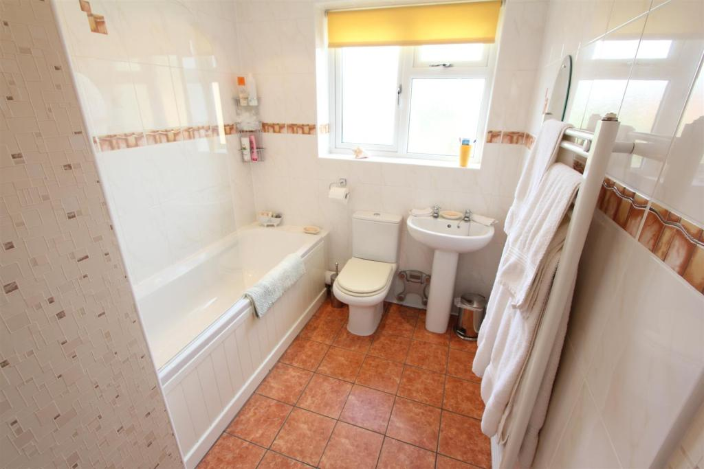 Refitted bathroom to