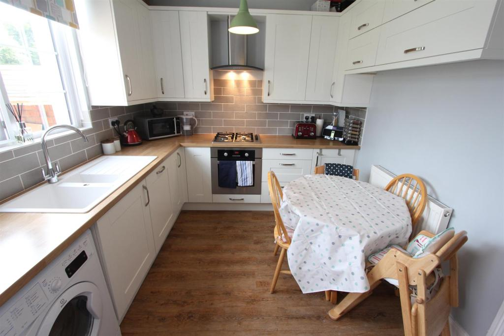 Refitted dining kitc