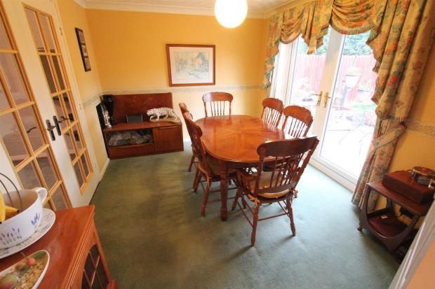 Rear dining room