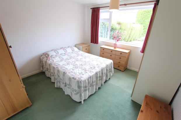 Bedroom one to rear