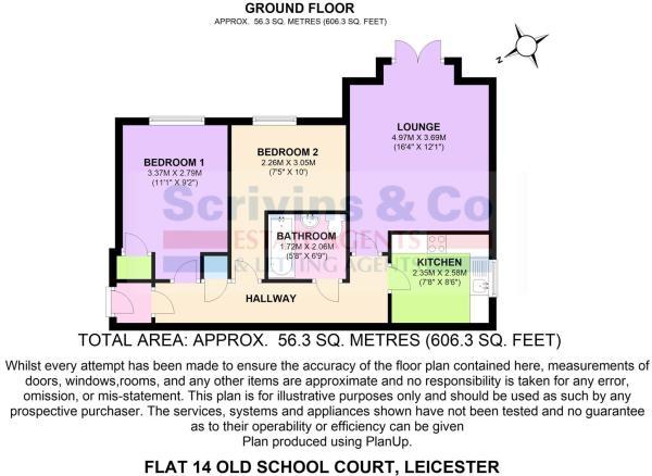 Flat 14 Old School C