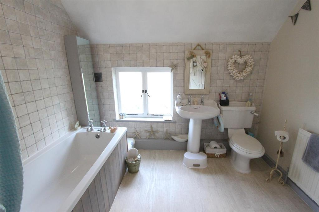 Bathroom to rear