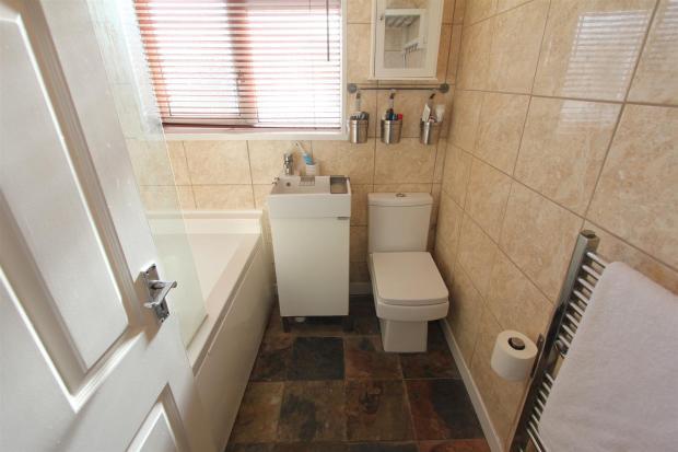 Bathroom to rear