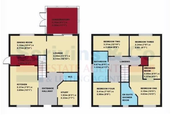 crownhill Floor plan