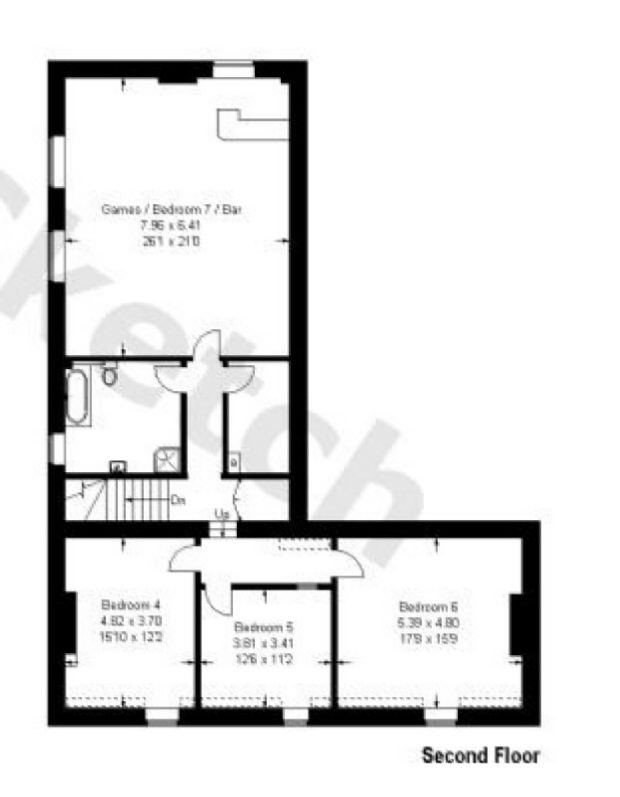Floor Plans - Second