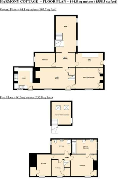 Harmony Cottage Floor Plans