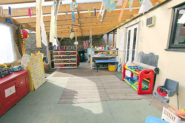 Covered Play Area
