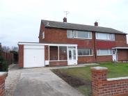 3 bedroom semi detached home to rent in Clement Avenue, Balderton