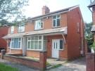 semi detached house in Greenway Crescent...
