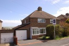 Firle Crescent semi detached house for sale