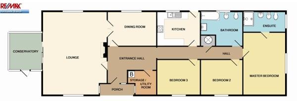 3 bedroom detached bungalow for sale in holt lane