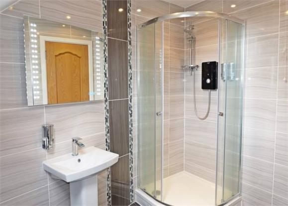 Second new shower room