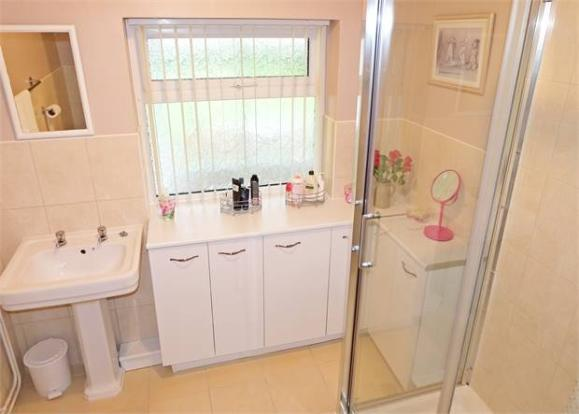Contemporary shower room (former bathroom)