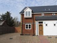 3 bedroom new house in Garden Road, Buntingford...
