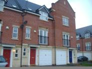 Town House in Haddon Way, Loughborough...