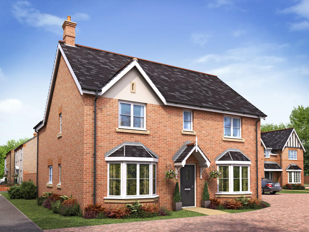 Detached Four Bedroom Property For Sale In Leicester Forest East