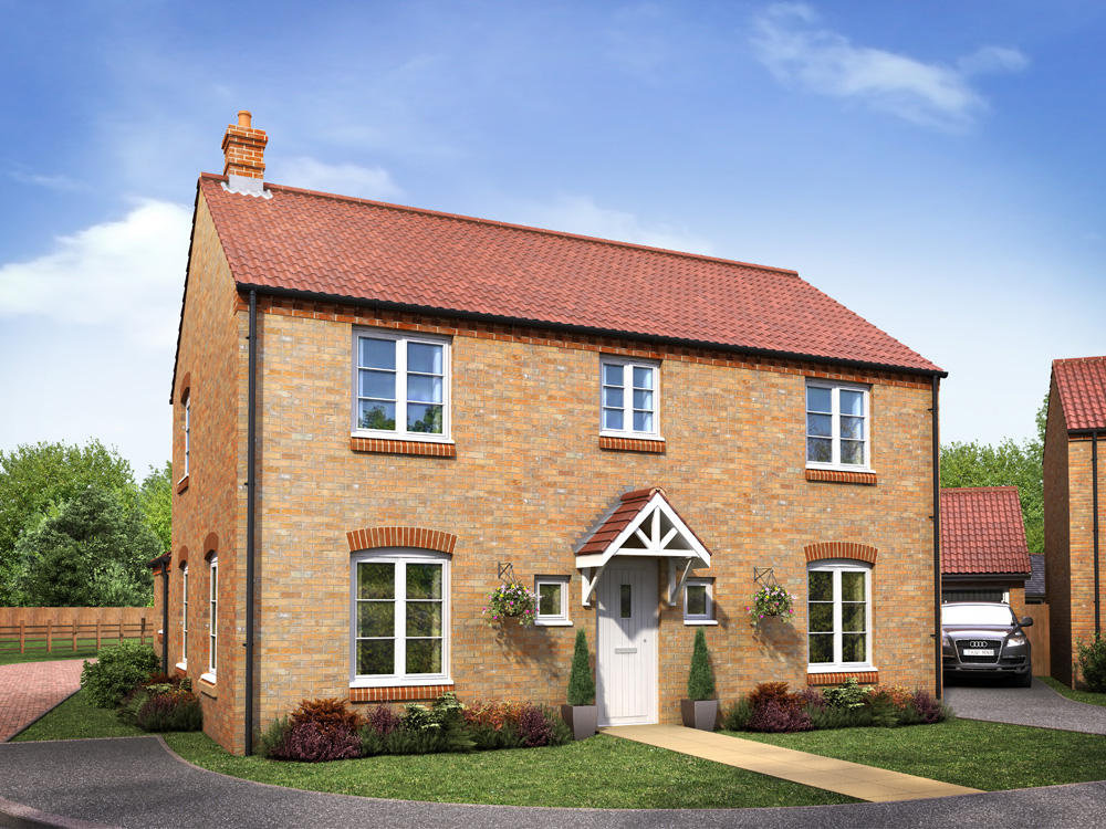 New Build Homes Leicester Forest East