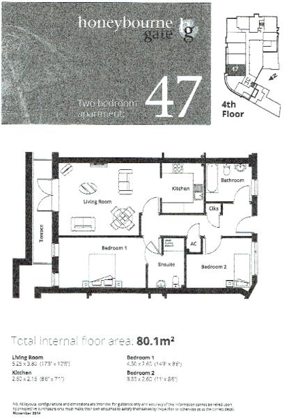Apt 47 Floor Plan