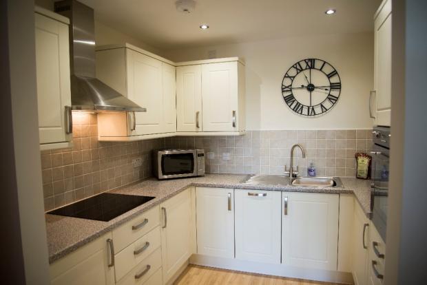 Typical apt kitchen
