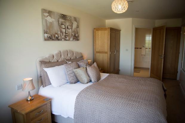 Typical apt bedroom