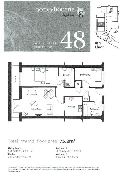 Apt 48 Floor Plan