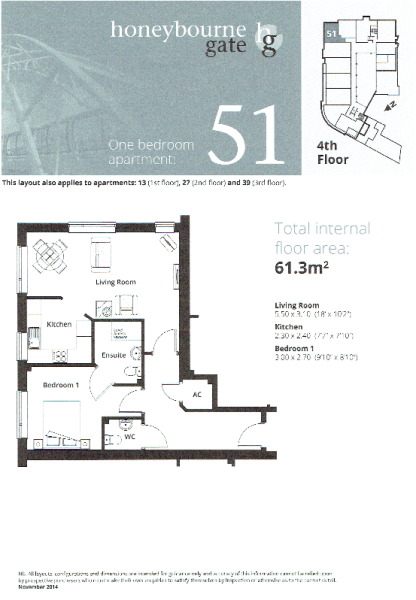 APt 51 Floor Plan