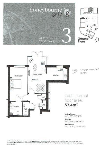 Apt 3 Floor Plan