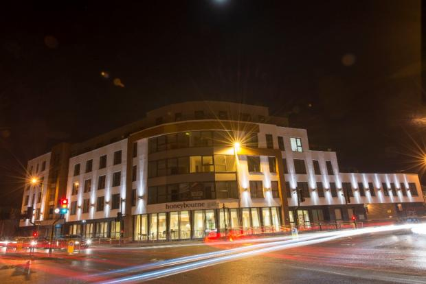 Frontage at Night