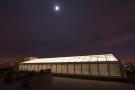 Glass lantern roof