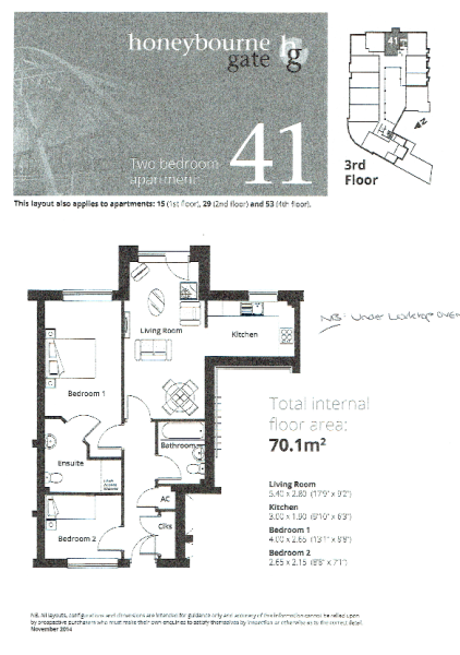 Apt 29 Floor Plan