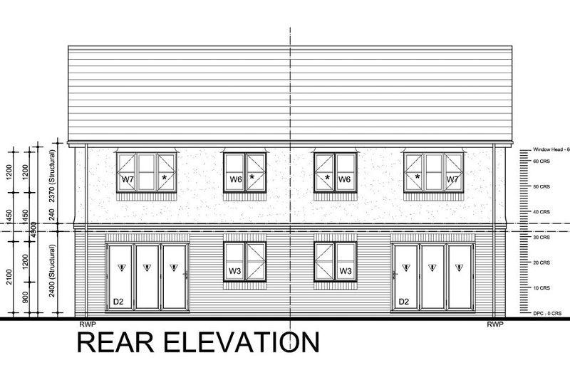 Rear Elevations