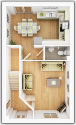 Gosford ground floor plan