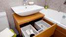 Contemporary bathroom, new home, Rotherham.