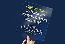 David Plaister Ltd, Auctions