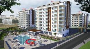 new Studio flat in Antalya, Alanya, Avsallar