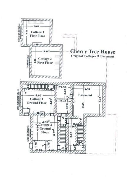 Original Cottages and Basement