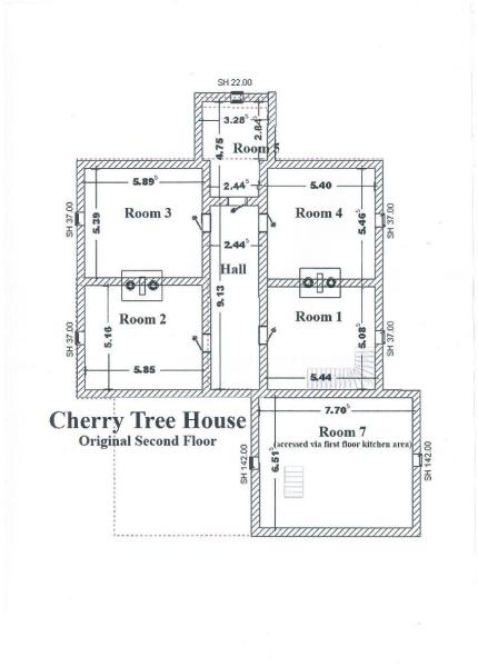 Original second floor