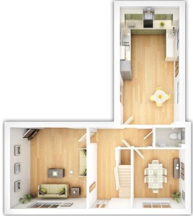 The Langdale ground floor plan