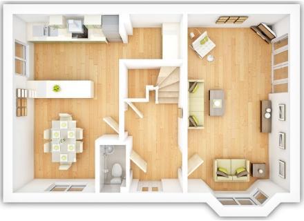 The Kentdale ground floor plan