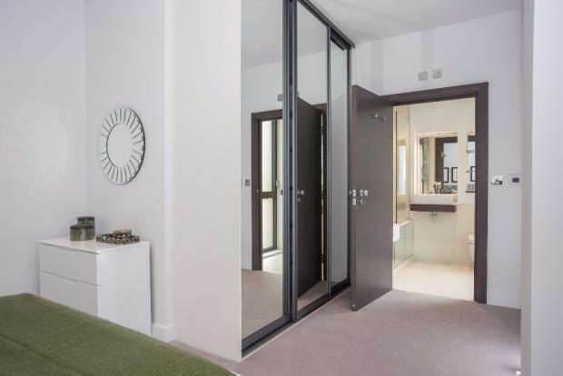 Bedroom 2 doorway