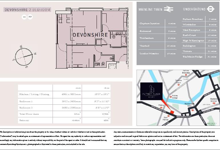 Devonshire Floorplan