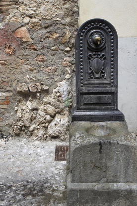 Old water fountain